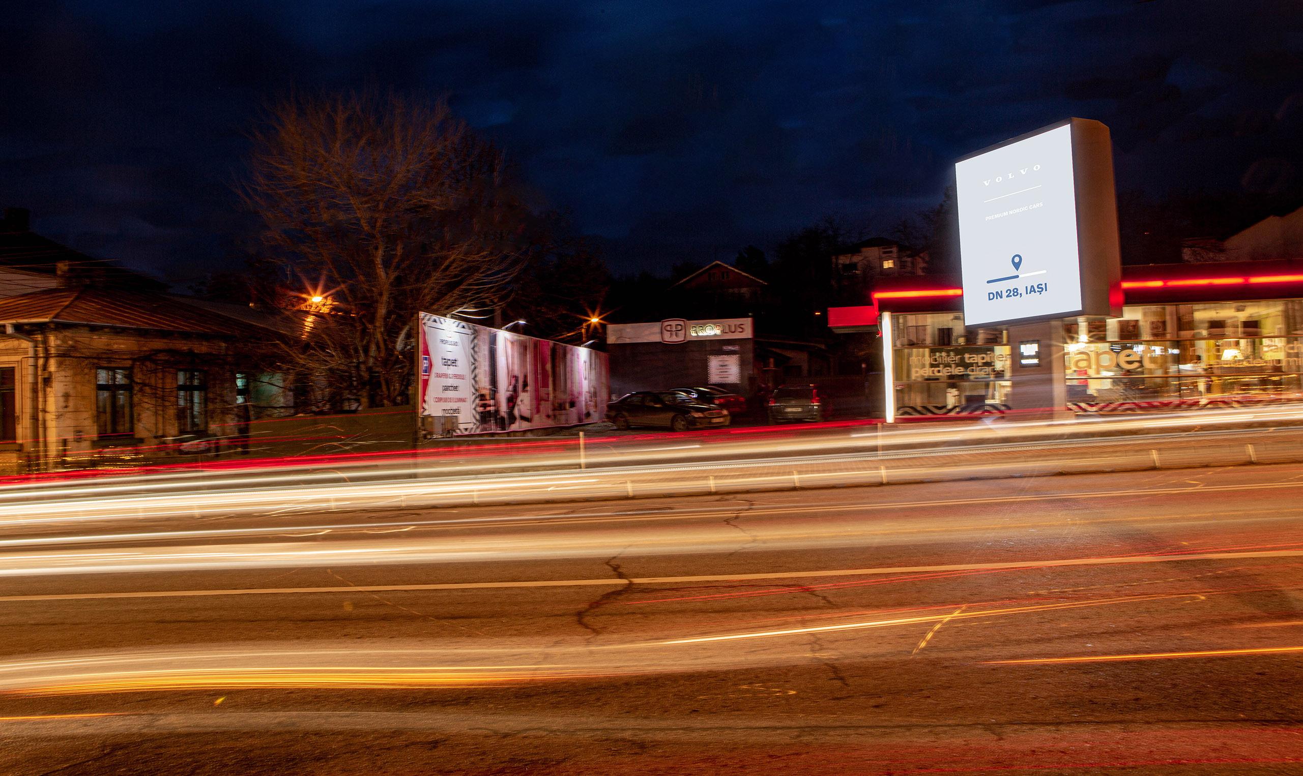 billboard-digital-pacurari-iasi-volvo-publicitate-outdoor-premium-nordic-cars